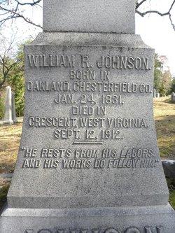 Capt William Ranson Johnson