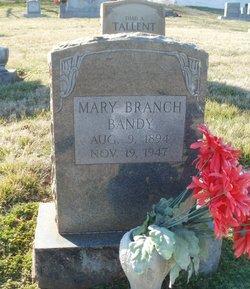 Mary <i>Branch</i> Bandy
