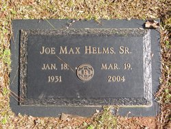 Joe Max Helms, Sr