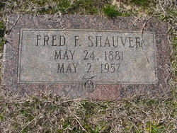 Fred F Shauver