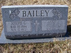 Annie J. <i>Brulia</i> Bailey
