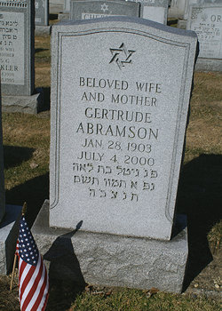 Gertrude Abramson