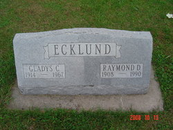 Gladys Caroline <i>Mackie</i> Ecklund