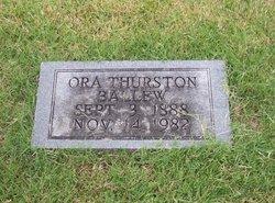 Ora Mae <i>Thurston</i> Ballew
