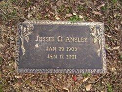 Jessie Lee <i>Gresham</i> Ansley