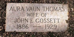 Aura Vaun <i>Thomas</i> Gossett