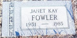 Janet Kay Fowler