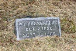 William H Hassenplug