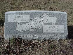 Alice Catherine <i>Walters</i> Shaffer