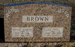 Dorothy Evelyn Dolly <i>Clements</i> Brown