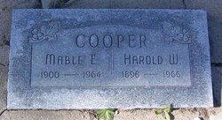 Mabel E Cooper