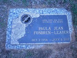 Paula Jean <i>Fondren</i> Leader