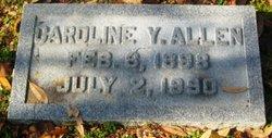Caroline <i>Young</i> Allen