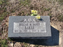 Beulah Mable <i>Darby</i> Baker