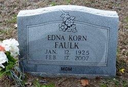 Edna Katherine <i>Korn</i> Faulk