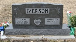 Alice Jean <i>Hallam</i> Iverson