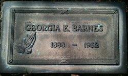 Georgia Ethel <i>Hall</i> Barnes