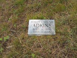 Rebecca <i>Young</i> Adkins