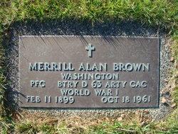 Merrill Alan Brown