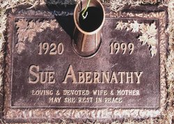 Sue <i>Downer</i> Abernathy