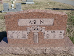 Sylvia S <i>Barger</i> Aslin