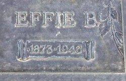 Effie Belle French