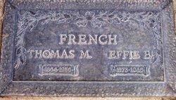 Thomas M French