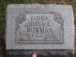 Hyrum Edward Bowman