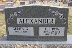 Gerita Geraldine <i>Cameron</i> Alexander