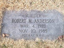 Sgt Robert Mitchell Anderson
