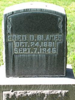 Fred Dwight Blaker