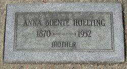 Anna <i>Boente</i> Hoelting