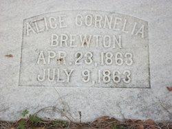 Alice Cornelia Brewton