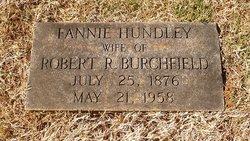 Fannie <i>Hundley</i> Burchfield