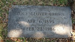 Lucy <i>Glover</i> Brown
