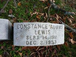 Constance <i>Adams</i> Lewis