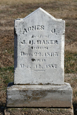 Agnes Jane <i>Hatton</i> Baker