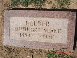 Edith <i>Greenland</i> Gelder