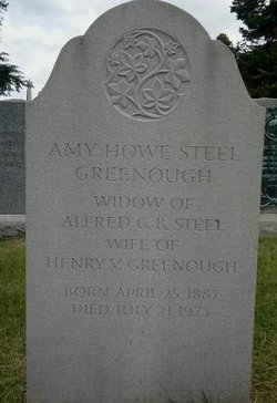 Elizabeth Amanda Amy <i>Howe Steel</i> Greenough