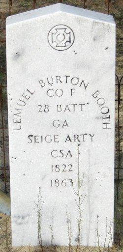 Lemuel Burton Booth