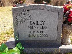 Verdie Mae Bailey