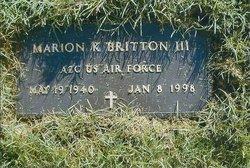 Marion Kindred Ken Britton, III