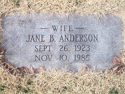 Jane B. Anderson