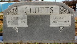 Mary Effie Effie <i>Jarvis</i> Clutts