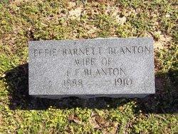 Effie <i>Barnett</i> Blanton