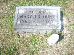 Mary Jane <i>Roberts</i> Blount