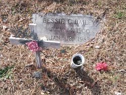 Bessie <i>Carter</i> Bailey