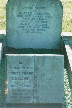 Ernest Frank Callow