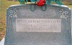 Jessie Irene <i>Murchison</i> Eaves