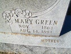 Mary <i>Green</i> Atwell
